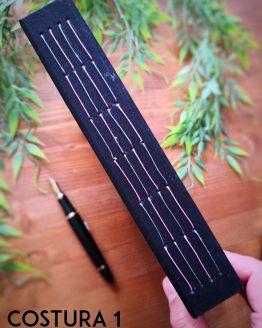 Cuaderno bordado a mano